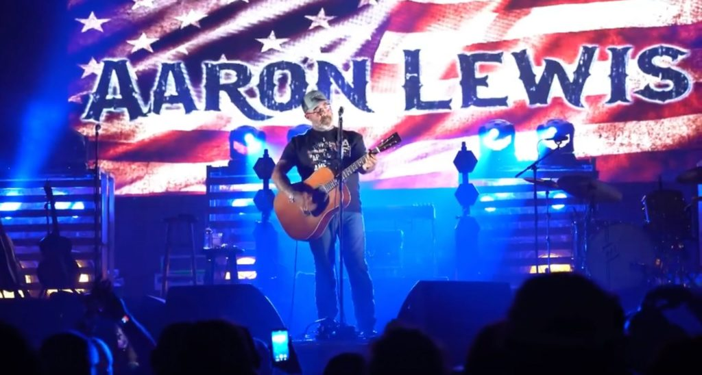 Music Industry Critic Demands the Cancellation of Aaron Lewis
