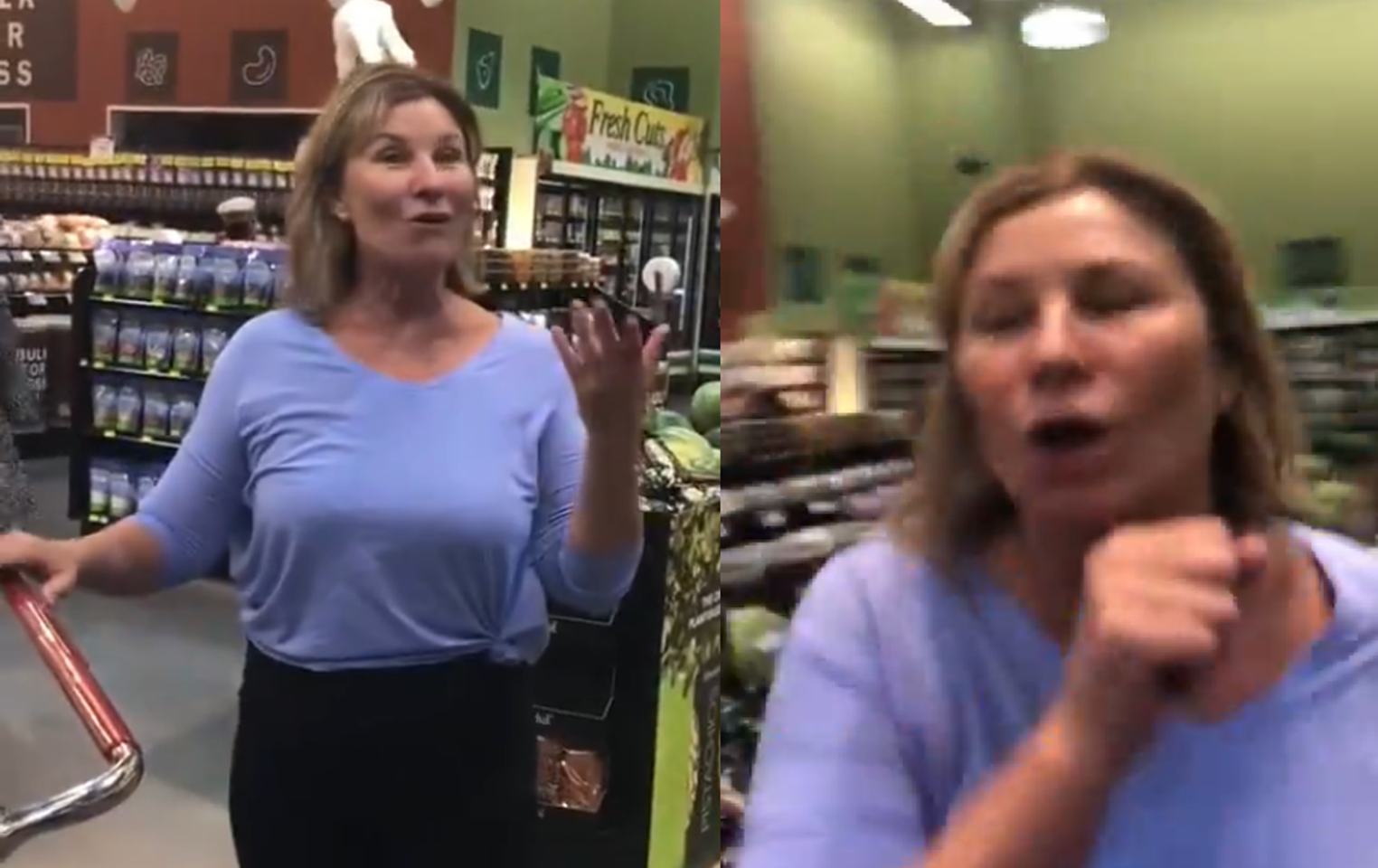 Scottsdale Woman Goes Viral For Coughing On Masked Shoppers At Nebraska Grocery Store