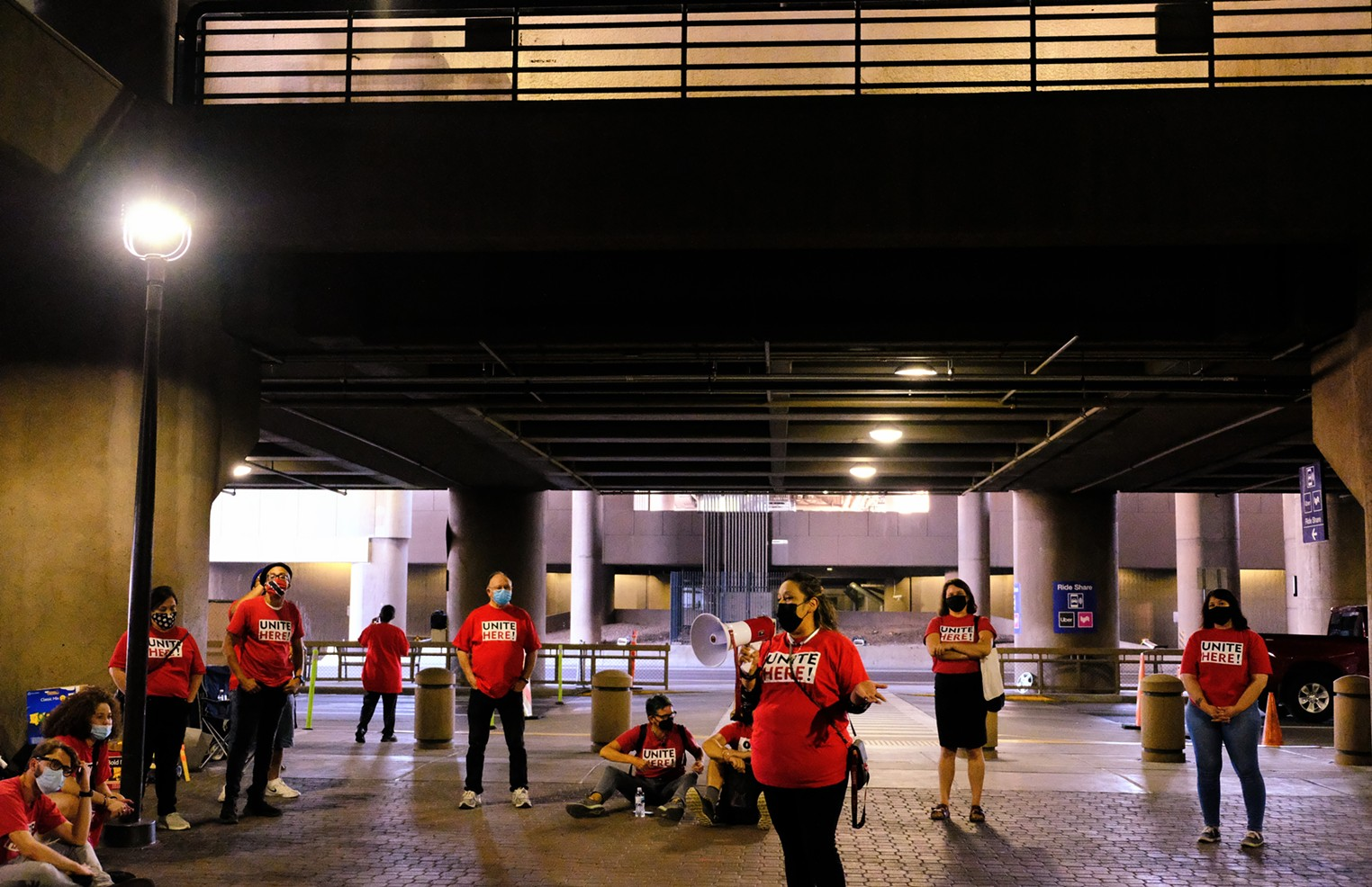 Workers On Strike At Sky Harbor Airport Say They Face Grueling Workplace Conditions